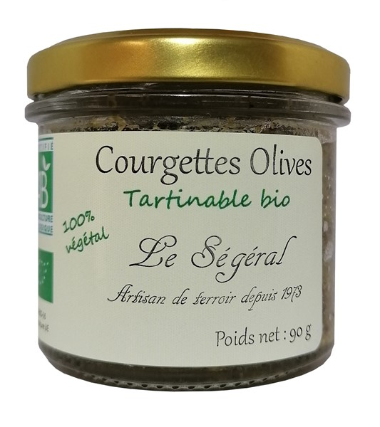 Courgettes Olives bio 90 g
